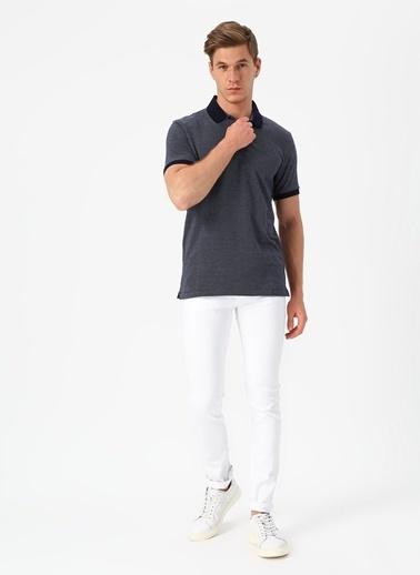 Cotton Bar Tişört Lacivert